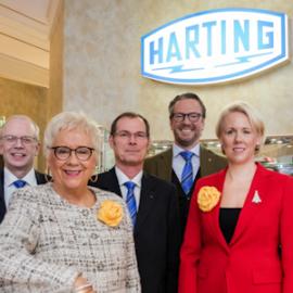Der Harting-Vorstand, ©HARTING Deutschland GmbH & Co. KG 2018