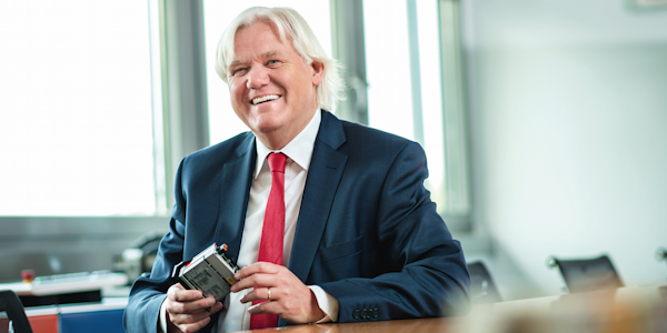 Hans Beckhoff, Managing Director of Beckhoff Automation GmbH & Co. KG, © Beckhoff Automation GmbH & Co. KG 2019