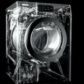 Künstliche Intelligenz kann dabei helfen, aus unzähligen Daten virtuelle Modelle zu erstellen, die bei intelligenter Produktentwicklung eine immer größere Rolle spielen, © Miele/ it's OWL Clustermanagement GmbH 2019
